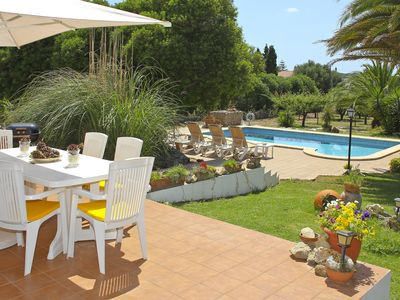 Photo for Villa with pool, garden and WIFI located 6 km from the sea