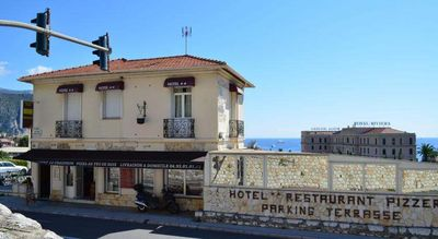 Photo for Great hotel room in Beaulieu-Sur-Mer with sea view terrace