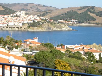 Photo for T2 - SEA VIEW IMPRENABLE on the Bay of BANYULS - WITHOUT OPPOSITE
