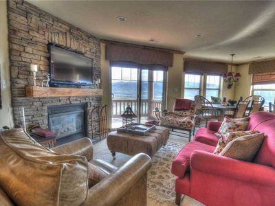 Photo for TopFloor w/VIEWS of the Lake & Mtns! Pool! Mins from Hiking/Biking Trails (H203)