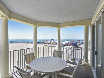 Photo for Oceanfront Corner Condo on OCMD Boardwalk - Wi-Fi, Pool, Great View