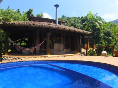 Photo for Excellent House in Maresias Condominium with 200m of the Beach (Canto do Moreira)