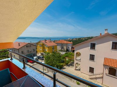 Photo for p Above the center of Crikvenica is this nice apartment with...
