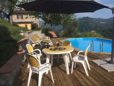 Photo for Spacious Comfortable Tuscan Farmhouse with Fabulous Views and Private Pool