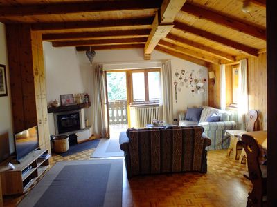 Photo for Bormio: romantic chalet in the countryside. For those who love nature, sport and relaxation