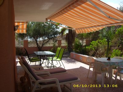 Photo for Nice chalet with sea view and terrace