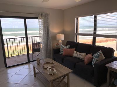 Photo for Beautiful Oceanfront Condo-Newly Decorated corner unit 4th floor