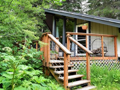 Photo for Dog-friendly condo with convenient, secluded location, gorgeous views & skiing