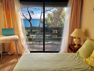 Photo for Private Guest House on Cap d'Antibes with sea view, Pool and parking !