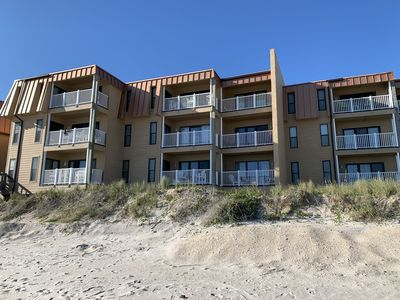 Photo for 1br Oceanfront, Condo, Steps to ocean