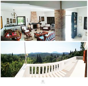 Photo for Private Villa in Central West Corfu,5 min from sea . Near Corfu Town,4 Bedrooms.