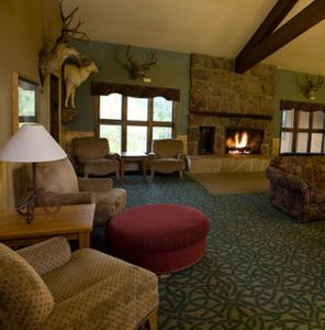 Resort Lobby, my unit is located on this floor ski rental available in lobby