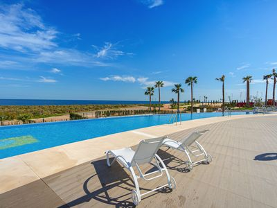 Photo for Lovely apartment in San Juan de los Terreros, Andalusia, Spain  with communal pool for 6 persons