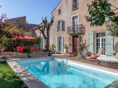 Photo for Elegant Holiday Home in Olonzac with Private Swimming Pool