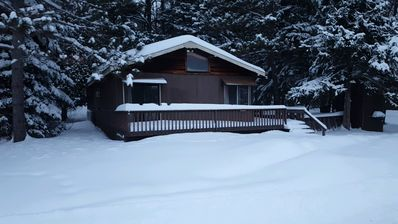 Photo for Cozy Buck Lake Cabin escape on Cass Lake Chain just minutes from Bemidji!!