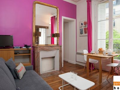 Photo for 101202 - Comfortable flat for 4 people at a walking distance from Les Halles