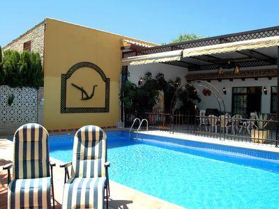 Photo for Rental villa in Ecija, Sevilla with large private pool.