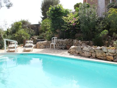 Photo for CharmingVilla with Pool Sea View West Toulon