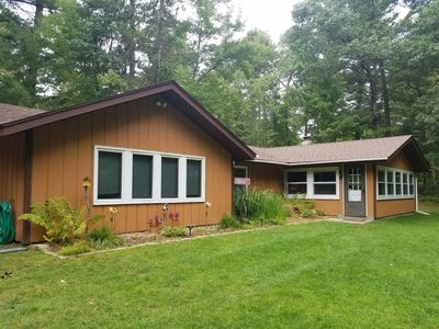 Photo for 4 bedroom private home overlooking beautiful Brandy Lake