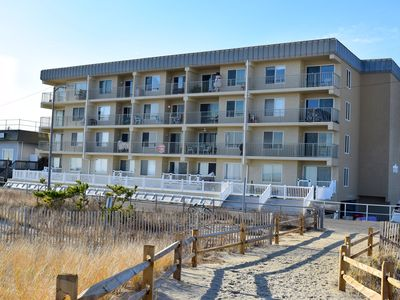 Photo for Ocean front condo - Sun-drenched southern exposure with corner unit,
