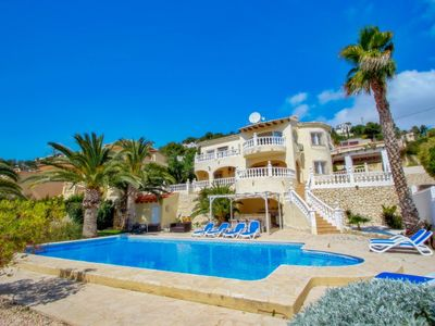 Photo for Fabya - sea view villa with private pool in Teulada