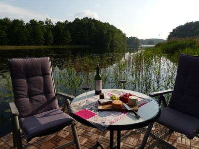 Photo for Comfortable apartment at the lake in Spreewald proximity to relax, fishing, ...