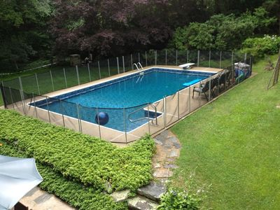 Photo for 4 Bedroom Colonial w/ In Ground pool South Madison CT: 74 Hull Rd