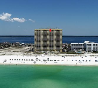 Photo for Gorgeous 2BR/2BA Emerald Isle Gulf Front Condo on 16th Floor @ Pensacola Beach