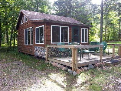 Photo for Cozy Lakeside Northwoods Retreat in Quiet Setting
