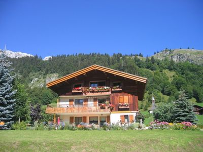 Photo for Pleasant garden level south classified *** NN in owner's chalet