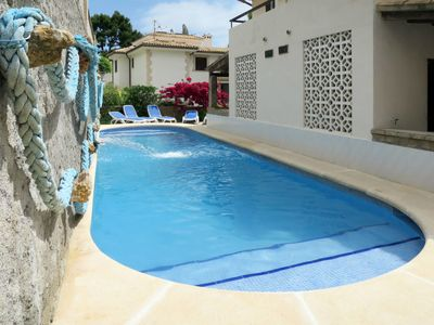 Photo for 2 bedroom Apartment, sleeps 4 in Cala San Vicente with WiFi