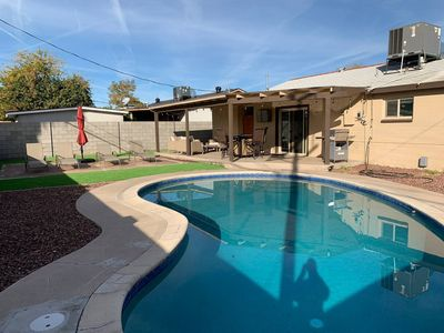 Photo for Modern 3-Bed 2-Bath w/ Pool - Right between Old Town Scottsdale & Tempe (ASU)