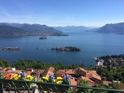 Photo for A window 2 overlooking Lake Maggiore!