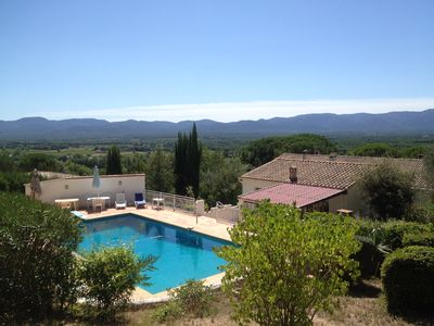 Photo for Rent Private house around a beautiful and large pool in Var well located