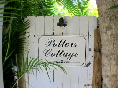 Photo for Potter's Cottage -- Your Private Garden Oasis Vacation Hide-A-Way,  Pet Friendly