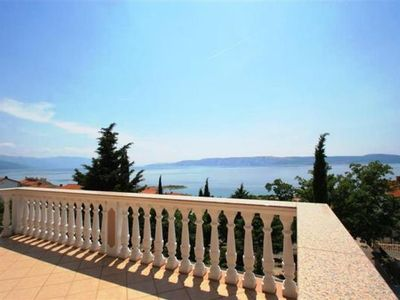 Photo for 3BR Apartment Vacation Rental in Novi Vinodolski, Kvarner Festland