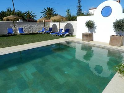 Photo for Charming Apartment with Pool, Terrace, Air Conditioning and Wi-Fi