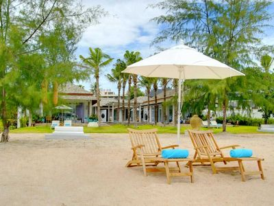 Photo for Beachfront Private Villa with Staff at your disposal