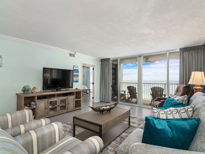 Photo for FREE BEACH SERVICE - Newly Renovated Unit 1072 - 2 Bedroom/2 Bath Beach Front