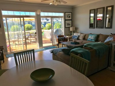 Photo for Beautiful  Townhome That Has It All  -  Walk To Beach, Restaurants, Shops, Pool