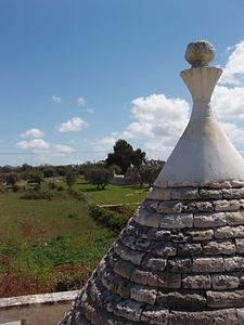View from the trullo roof