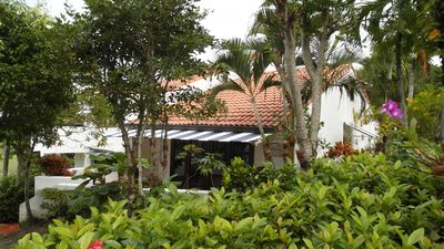 Photo for Cozy Tropical Rio Mar Resort Villa, WIFI, Parking, Orchid Garden, Near El Yunque