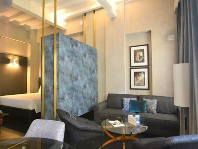 Photo for Appartamento Calliope B: A modern and graceful studio apartment located in the historic center of Florence, with Free WI-FI.