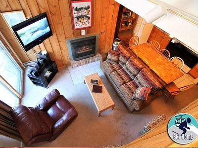 Photo for Shuttle to Slopes and ski home to this cozy condo