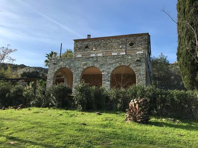 Photo for Villa Fromentica Old sheepfold with pool