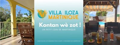Photo for Villa ILOZA in the heart of Martinique