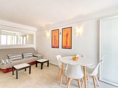 Photo for Sunny Apartment with Magnificent View of Plage du Midi Beach
