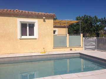 Villa of 90m2 with private pool on the heights of Anduze