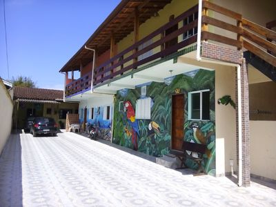 Photo for Chalets in Ubatuba - great location, with parking !!! AND