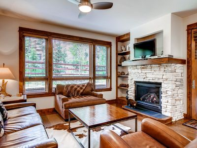 Photo for Beautiful views of the mountains, outdoor pool and more!